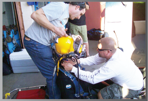 kmpdc diver safety training